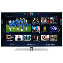 Buy Samsung UE60F7000 LED HD 1080p 3D Smart TV, 60 Inch with Freeview/Freesat HD and Voice/Motion Control with 2x 3D Glasses Online at johnlewis.com