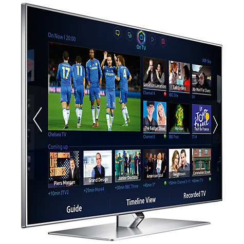 "Buy Samsung UE60F7000 LED HD 1080p 3D Smart TV, 60"" with Freeview/Freesat HD and Voice/Motion Control with 2x 3D Glasses Online at johnlewis.com"