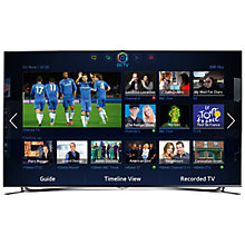 Buy Samsung UE65F8000 LED HD 1080p 3D Smart TV, 65 Inch, Quad Core with Freeview/Freesat HD and Voice/Motion Control with 2x 3D Glasses Online at johnlewis.com