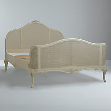 Buy John Lewis Rose Bedstead, Ivory, Double Online at johnlewis.com