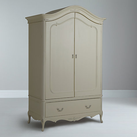 Buy John Lewis Rose 2-door Wardrobe, Ivory Online at johnlewis.com