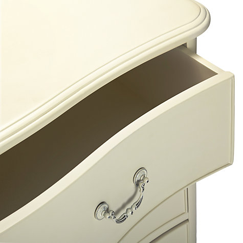 Buy John Lewis Rose 3-Drawer Chest, Ivory Online at johnlewis.com