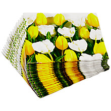 Buy John Lewis Tulips Napkins, Pack of 20 Online at johnlewis.com