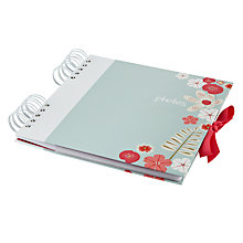 Buy John Lewis Wild Flower Slip In Photo Album Online at johnlewis.com