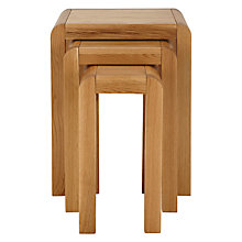 Buy John Lewis Marco Nest of 3 Side Tables Online at johnlewis.com