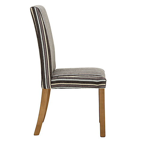 Buy John Lewis Marco Dining Chair, Fantasy Stripe Online at johnlewis.com