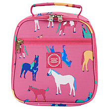 Buy Joules Horse Lunch Bag, Pink Online at johnlewis.com