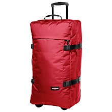 Buy Eastpak Tranverz 2-Wheel Large Suitcase, Chuppachop Red Online at johnlewis.com