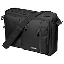 "Buy Eastpak Gybbs 15"" Laptop Messenger Bag, Black Online at johnlewis.com"
