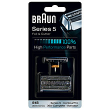 Buy Braun 51S Series 5 Foil and Cutter Combi Pack Online at johnlewis.com