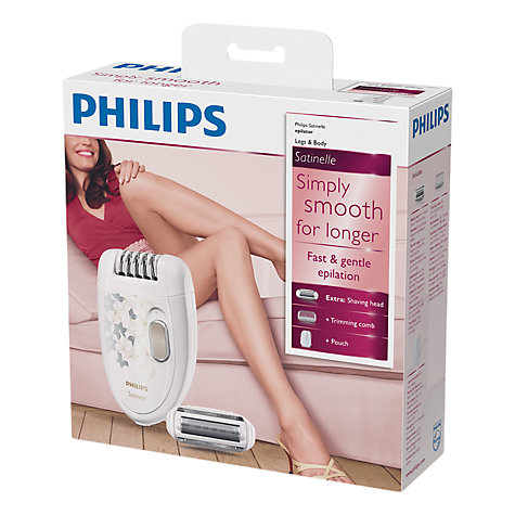 Buy Philips HP6423/00 Satinelle Epilator Online at johnlewis.com