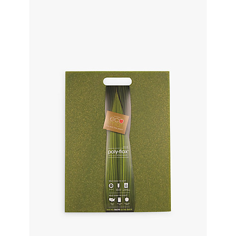 Buy Ecosmart Poly-flax Chopping Board, Green Online at johnlewis.com