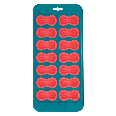Buy Bobble Bottle Ice Tray, Teal/Pink Online at johnlewis.com