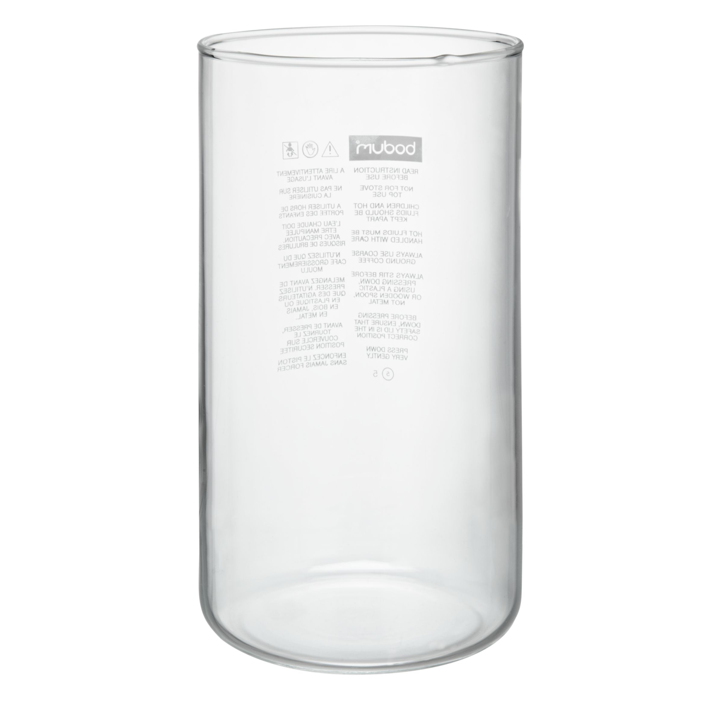 Bodum Bodum Chambord Spare Glass for Coffee Maker without Spout