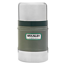 Buy Stanley Classic Vacuum Food Flask, Hammertone Green, 0.5L Online at johnlewis.com