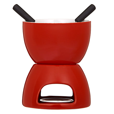 Buy House by John Lewis Ceramic Fondue Set Online at johnlewis.com