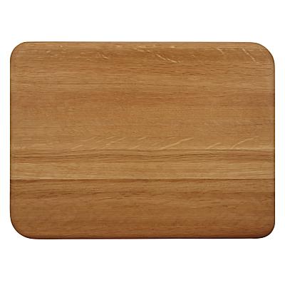 John Lewis Sculpted Oak Chopping Board