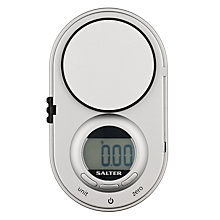 Buy Salter Precision Electronic Kitchen Scale, Silver, 0.5kg Online at johnlewis.com
