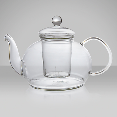 John Lewis Glass Teapot with Infuser, 1.2L