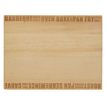 Buy John Lewis 2 Sided Etched Chopping Board Online at johnlewis.com