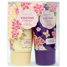 Buy Heathcote & Ivory Vintage Mimosa & Pomegranate Bathing Duo, 2 x 50ml Online at johnlewis.com
