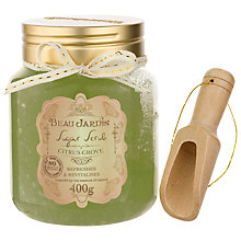 Buy Heathcote & Ivory Beau Jardin Citrus Grove Sugar Scrub Online at johnlewis.com