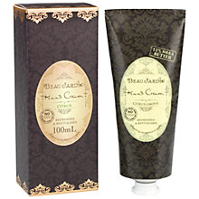 Buy Heathcote & Ivory Beau Jardin Citrus Grove Hand Cream, 100ml Online at johnlewis.com