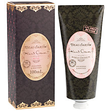 Buy Heathcote & Ivory Beau Jardin Rose & Geranium Hand Cream, 100ml Online at johnlewis.com