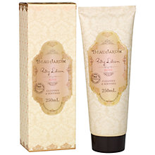 Buy Heathcote & Ivory Beau Jardin Rose & Geranium Body Lotion , 250ml Online at johnlewis.com