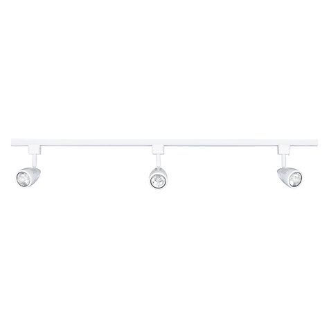 Buy John Lewis Mega Track and Spotlight, White Online at johnlewis.com