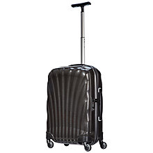 Buy Samsonite Cosmolite 2 4-Wheel 55cm Cabin Suitcase, Black Online at johnlewis.com