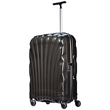 Buy Samsonite Cosmolite 2 4-Wheel 69cm Medium Suitcase, Black Online at johnlewis.com