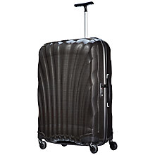 Buy Samsonite Cosmolite 2 4-Wheel 75cm Medium Large Suitcase, Black Online at johnlewis.com