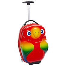 Buy Travel Buddies Popo Parrot 2-Wheel Suitcase Online at johnlewis.com