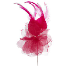 Buy John Lewis Floral Corsage, Bright Pink Online at johnlewis.com