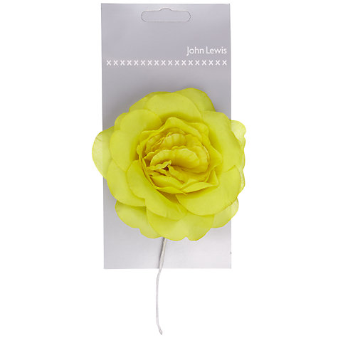 Buy John Lewis Corsage, Lime Online at johnlewis.com