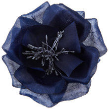 Buy John Lewis Poppy Corsage, Navy Online at johnlewis.com