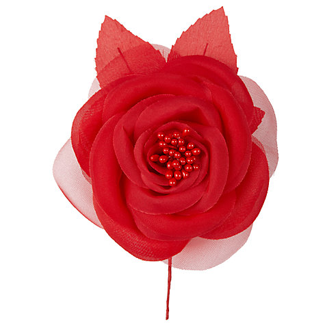Buy John Lewis Rose Corsage, Red Online at johnlewis.com