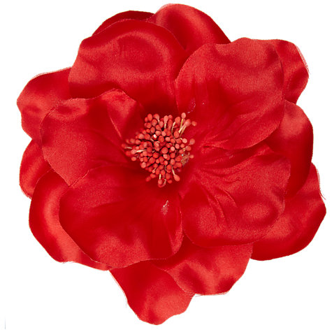 Buy John Lewis Poppy Corsage, Red Online at johnlewis.com