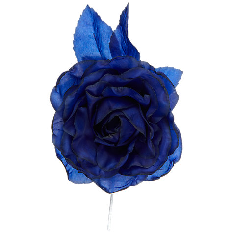 Buy John Lewis Rose Corsage, Sapphire Blue Online at johnlewis.com