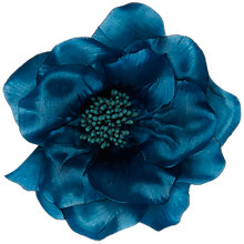 Buy John Lewis Large Corsage, Turquoise Online at johnlewis.com