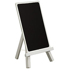 Buy John Lewis Chalk Board, White Online at johnlewis.com
