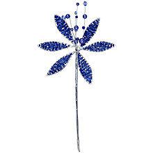 Buy John Lewis Beaded Flower Accessory, 16cm Online at johnlewis.com