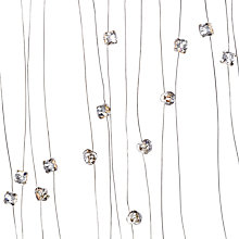 Buy John Lewis 4mm Diamante Gems On Wire, 10m Online at johnlewis.com