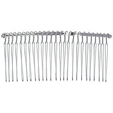 Buy John Lewis Bridal Hair Comb, Silver Online at johnlewis.com