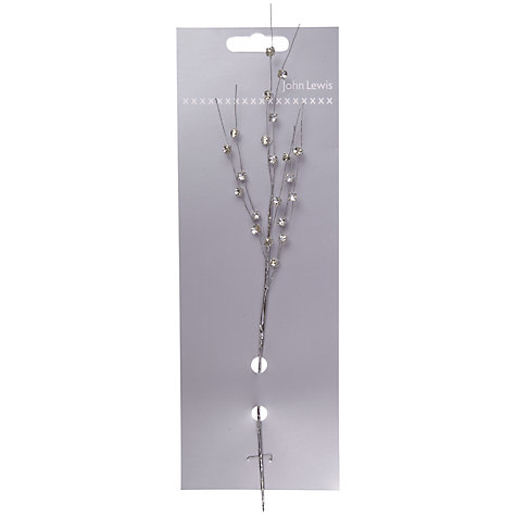 Buy John Lewis Gems on Branches, Silver, Small Online at johnlewis.com