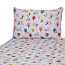Buy John Lewis Woodland Owl Cot Bed Duvet Set, Multi Online at johnlewis.com