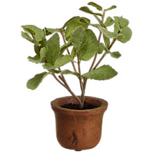 Buy John Lewis Mini Artificial Mint Herb Pot Online at johnlewis.com