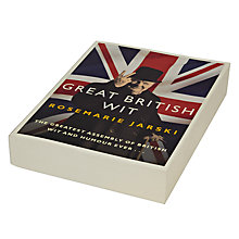 Buy Great British Wit Book by Rosemarie Jarski Online at johnlewis.com