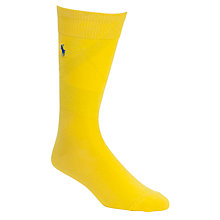 Buy Polo Ralph Lauren Egypt Cotton Ribbed Socks Online at johnlewis.com